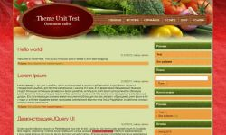 Healthy Food WordPress Theme