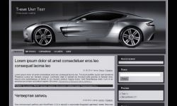 Automobile Wp Theme