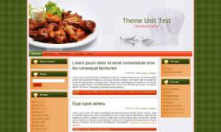 Cooking Wp Theme